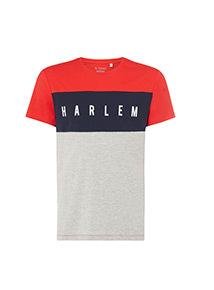 Red 'Harlem' T-Shirt
