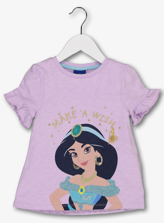 69158c368 Kids Disney Aladdin Princess Jasmine Lilac T-Shirt (1 - 6 Years) | Tu  clothing