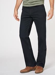 Indigo Denim Wash Bootcut Jeans