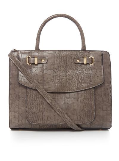 Patchwork Croc Bag