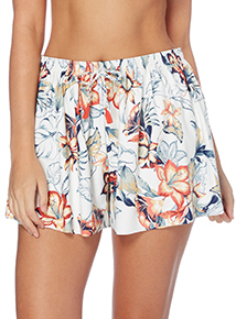 Amazon Floral Cover Up Shorts