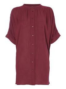 Purple Oversized Shirt