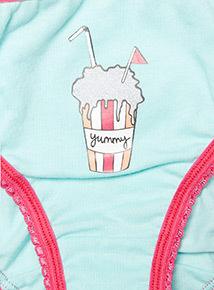 10 Pack Multicoloured Bikini Briefs (2-12 years)