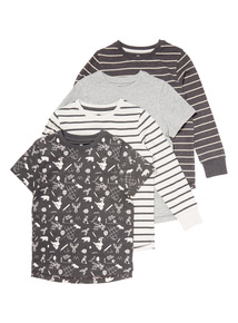 Four Pack Tops (3-14 years)