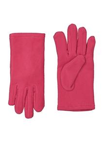 Pink Fleece Gloves