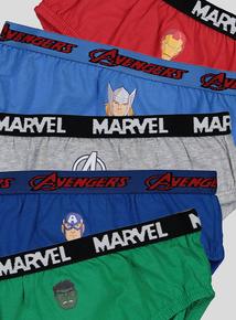 Marvel Avengers Briefs 5 Pack (2-9 years)