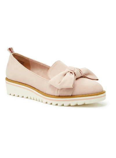Pink Sole Comfort Sports Wedge Pumps