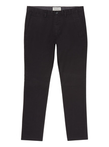 Black Slim Chino Trouser