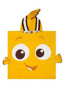 Kids Orange Finding Nemo Disney Poncho