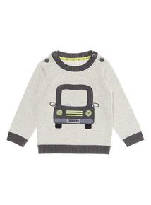 Grey Car Jumper