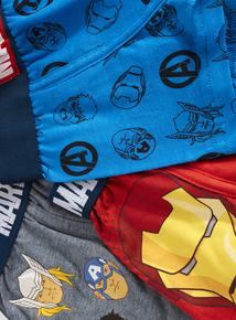 Marvel Avengers Trunks 3 Pack (3-14 years)