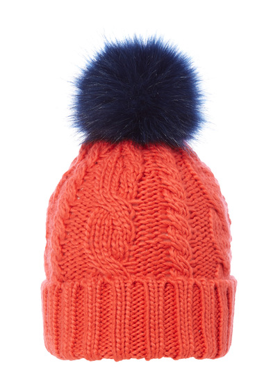 174d6dbe4452c2 Womens Red Primary Colour Bobble Hat | Tu clothing