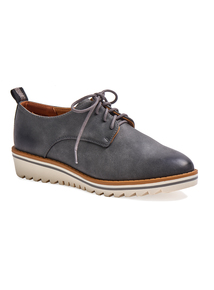 Sole Comfort Grey Wedge Lace Up