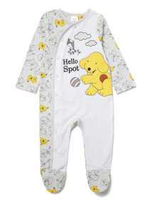 Grey Spot the Dog Sleepsuit (Newborn-12 months)