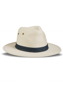 Cream Safari Hat