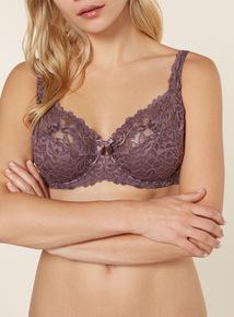 Purple Comfort Bra