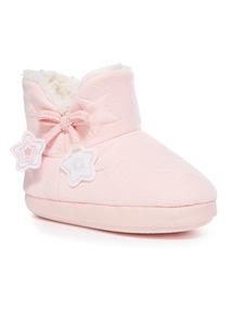 Star Slipper Boot (10 Infant - 4)