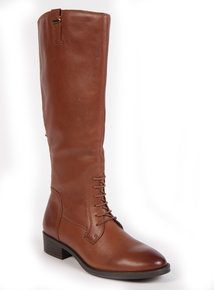 Premium Leather Knee-High Rider Boots
