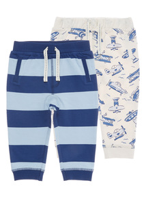 Planes and Striped Bottoms 2 Pack (0 - 24 months)