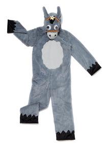Kids Grey Christmas Donkey Costume (3-12 Years)