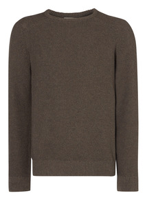 Taupe Stitch Jumper
