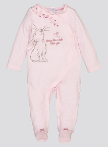 Guess How Much I Love You Pink Sleepsuit (Newborn-24 Months)