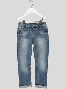 Blue Fashion Tapered Leg Jeans (1 - 6 years)