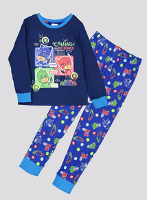 PJ Masks Pyjamas & Dressing Gown 3 Piece Set (1-6 Years)