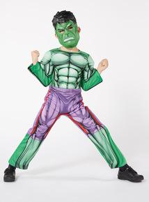 Green The Incredible Hulk Costume (3-10 years)