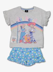 ad4ef155765 Disney Toy Story 4 Grey & Blue Pyjamas (18 Months-7 Years)