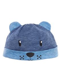 Blue Dog Hat (0-24 months)