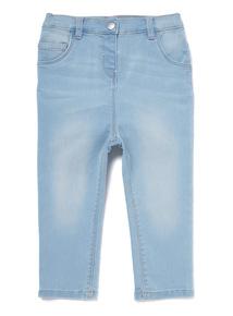 Light Wash Denim Jeans (0-24 months)