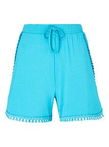 Tassel Trim Shorts