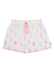 Mix and Match Multicoloured Ice Cream Shorts (3 - 14 years)