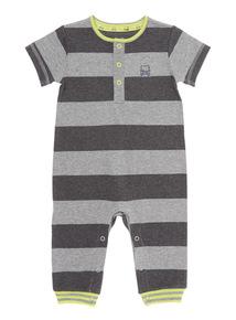 Striped Jersey Romper (0 - 24 months)