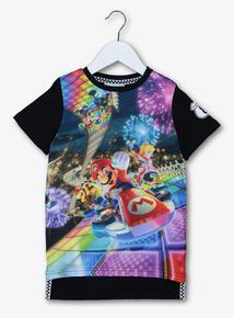 Nintendo Mario Kart Multicoloured T-Shirt (3-14 years)