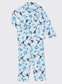 Multicoloured Artic Animal Pyjamas (1-8 Years)