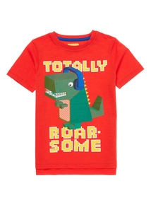 Multicoloured Roarsome Tee (9 months - 6 years)