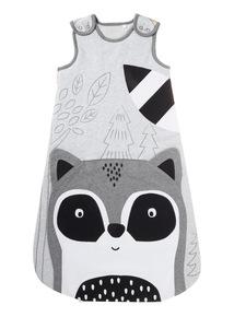 Grey Racoon Sleeping Bag (0-24 months)
