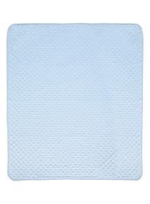 Blue Velboa Blanket (0-24 months)