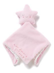Pink Star Comforter