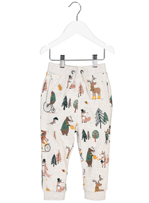 Multicoloured Country Animal Joggers (9 Months - 6 Years)