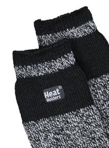 9a1675d127c1b Heat Holders Mottled Grey   Black Thermal Socks