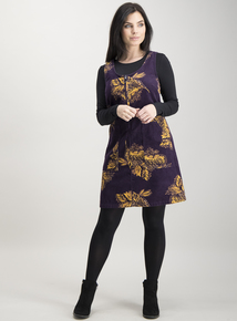 Online Exclusive PETITE Multicoloured Pinafore Dress
