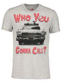 Halloween Ghostbusters Slogan T-Shirt (S- XXL)