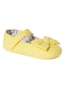 Yellow Dolly Shoes