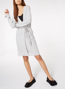 Grey Cashmere Gown