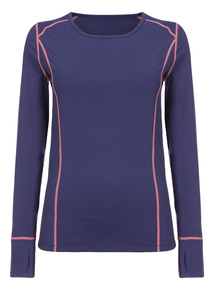 Navy Thermal Base Sports Top