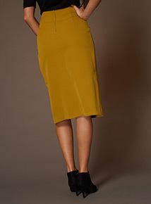 Premium Eyelet Wrap Skirt