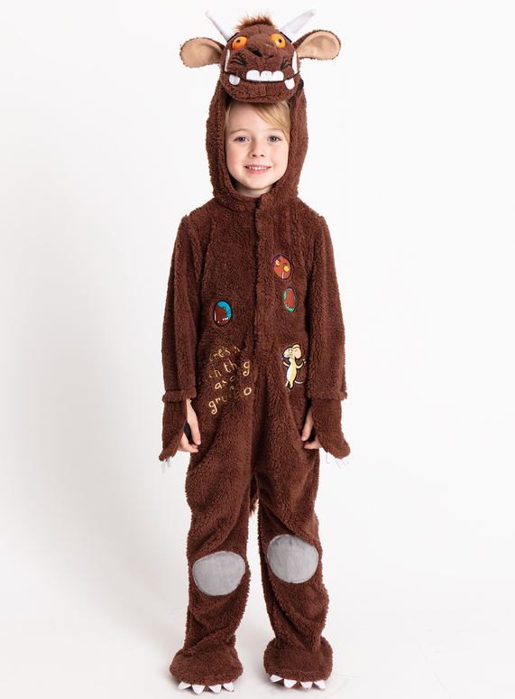 Fancy Dress The Gruffalo Brown Dress Up Costume 1 8 Years